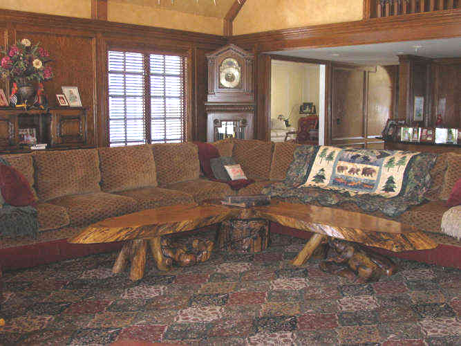 carved tables