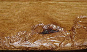 carved coffee table RE bentley